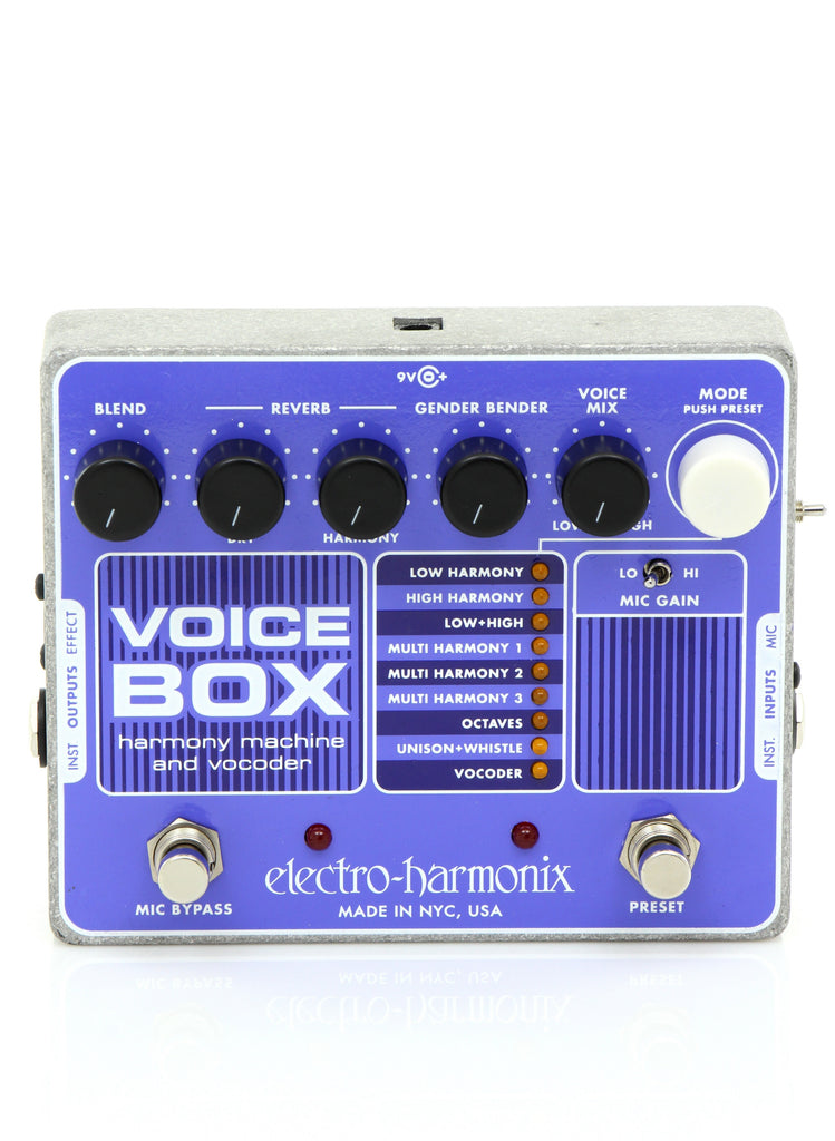 Electro Harmonix VOICE BOX Vocal Harmony Machine/Vocoder Pedal