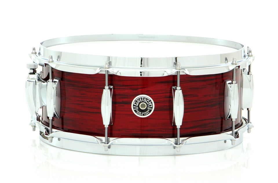 "Gretsch 14"" x 5.5"" Brooklyn Snare Drum Red Oyster Nitron"