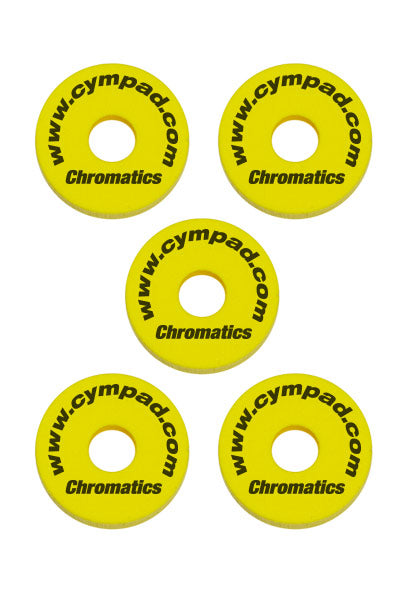 Cympad Chromatics Cymbal Enhancer Set - 40/15mm, Yellow