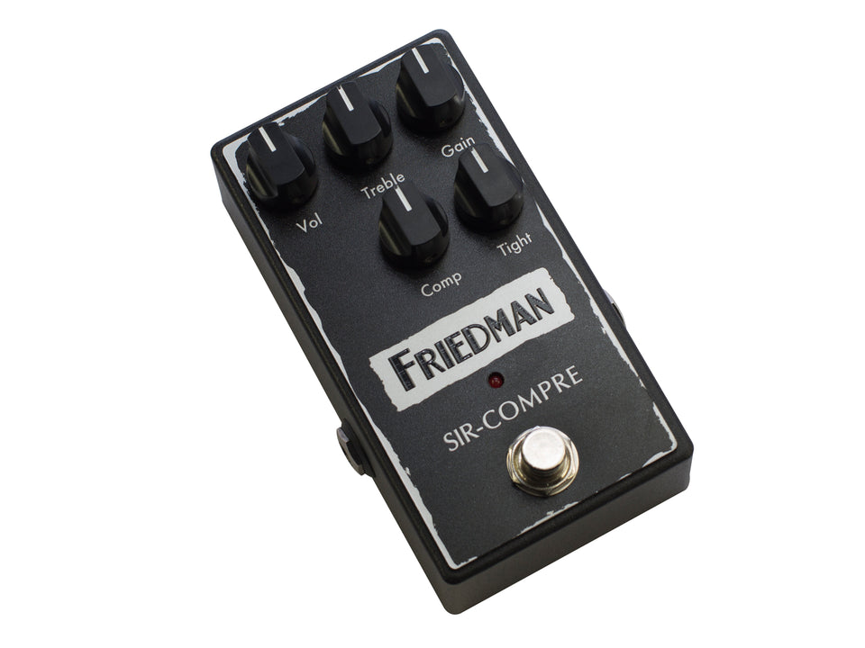 Friedman Sir-Compre Optical Compressor Pedal W/ Built-In Overdrive