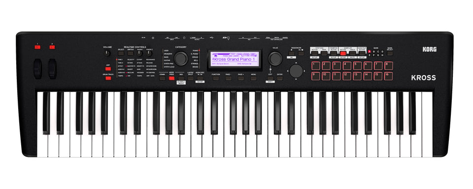 Korg KROSS261MB KROSS 2 Performance Synth / Workstation Keyboard