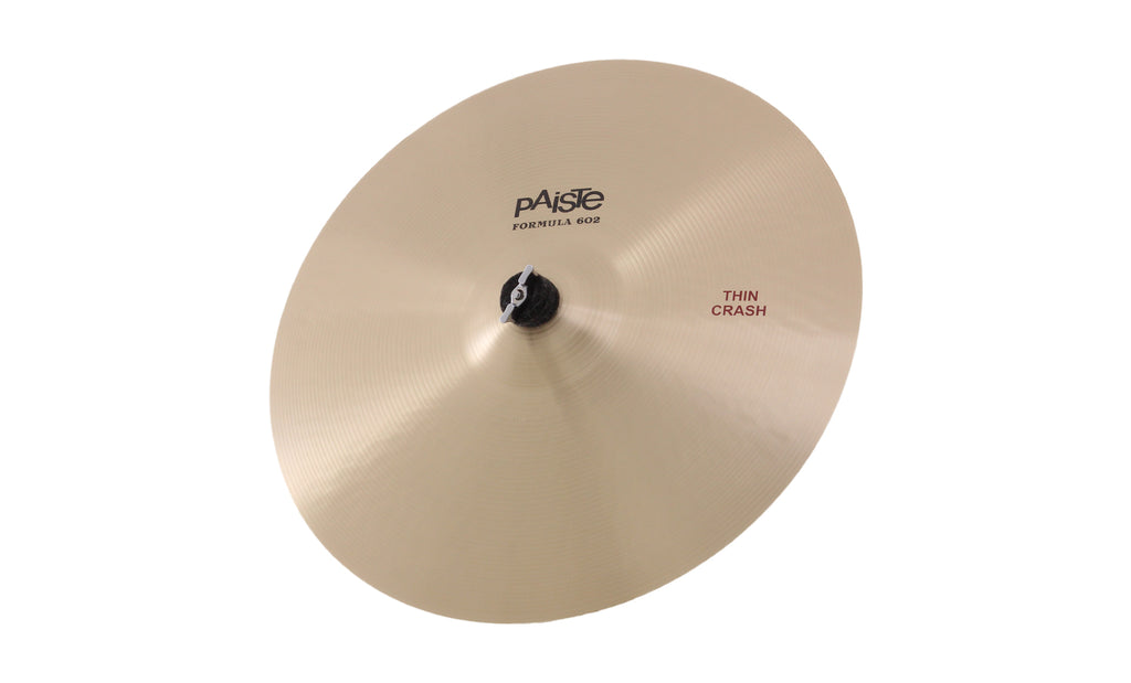 Paiste Formula 602 Modern Essentials Thin Crash Cymbal
