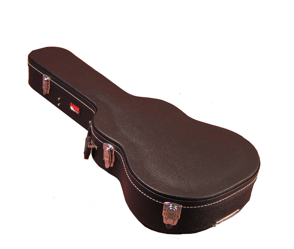 Gator Cases GWE-ACOU-3/4 Hard-Shell Wood Case For 3/4-Size Acoustic Guitars