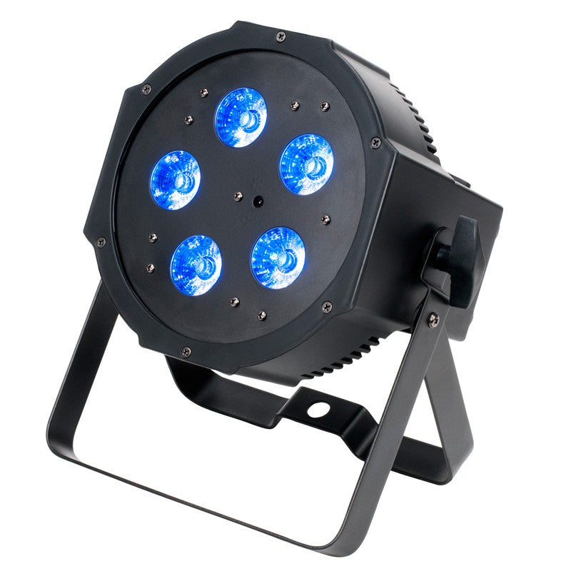 American DJ Mega Q Plus Go Multi-Color LED PAR Light