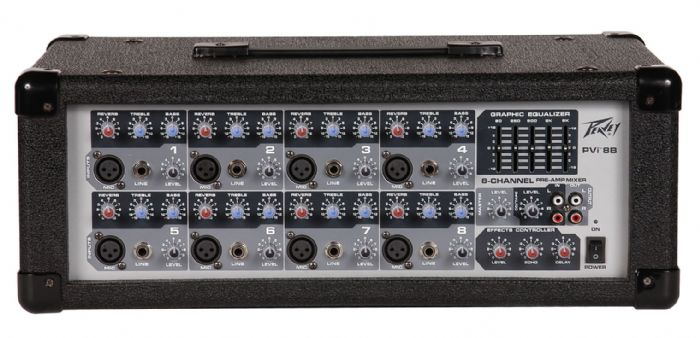 Peavey PVi 8B 8 Channel 150W Powered Mixer