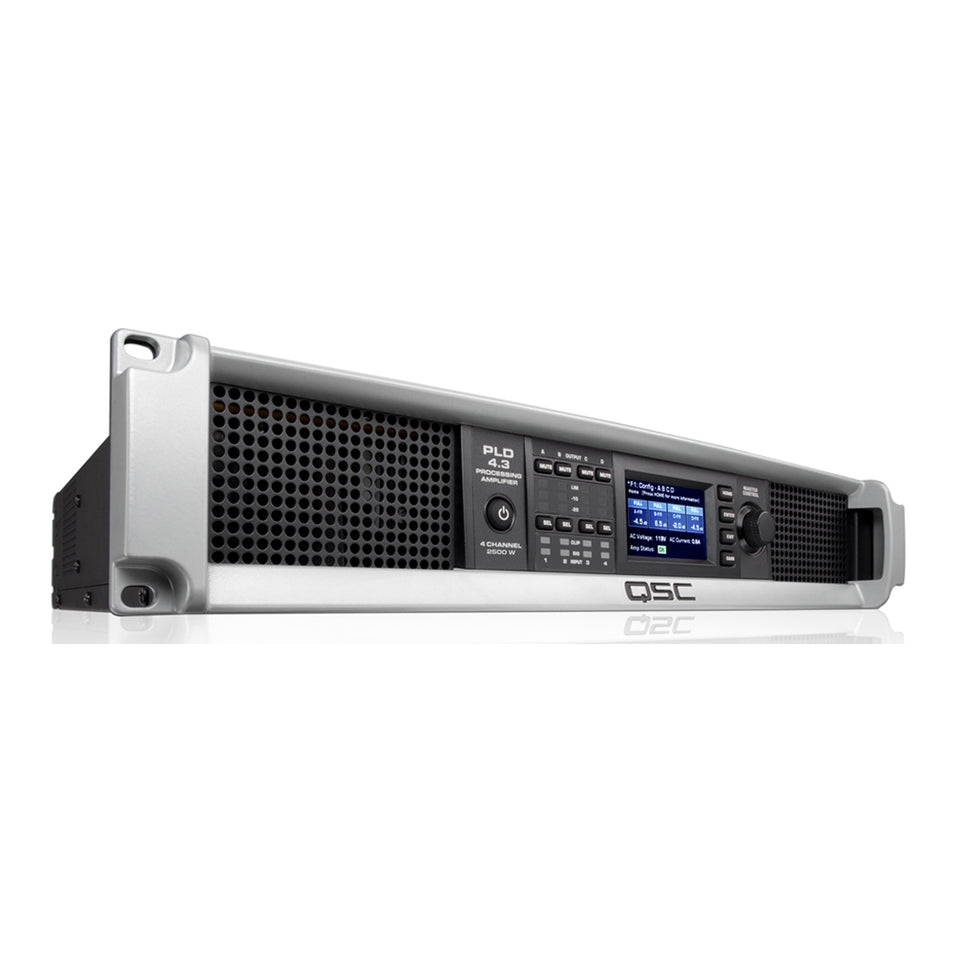 QSC PLD4.3 1400W 4-Channel Processing Amplifier