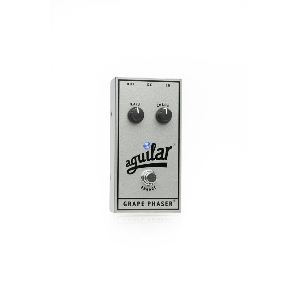 Aguilar 25th Anniversary Grape Phaser Bass Pedal - Limited Edition Silver