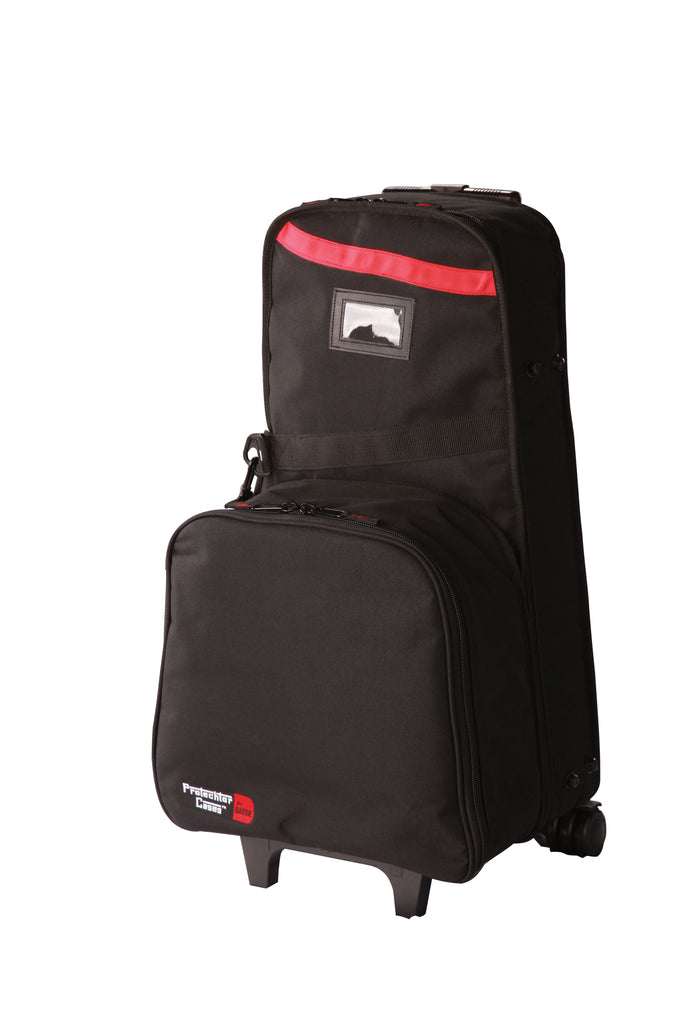 Gator GP-SNR/BELL KIT Backpack Style Bag With Wheels For Snare Kit And Bell Kit