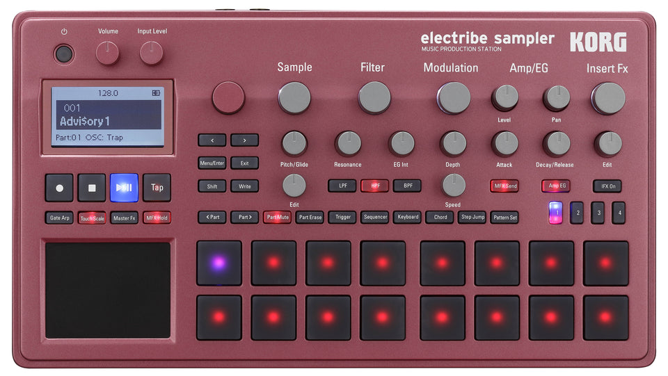 Korg Electribe 2 Sampler / Music Production Station - Red