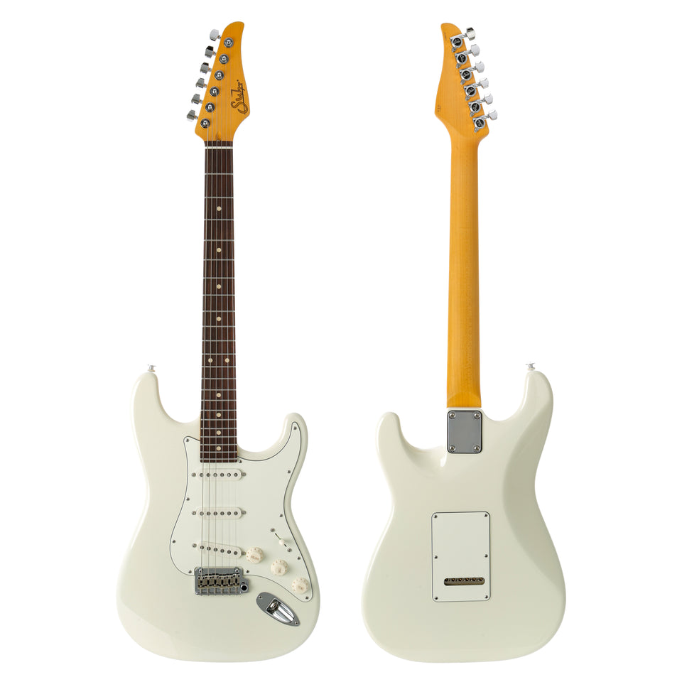 Suhr Classic S Rosewood Fingerboard Electric Guitar - Olympic White