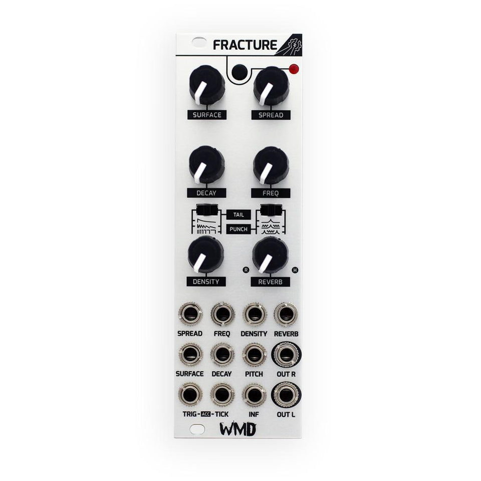 WMD Fracture Multi-Particle Crowd Percussion Synthesizer Eurorack Module