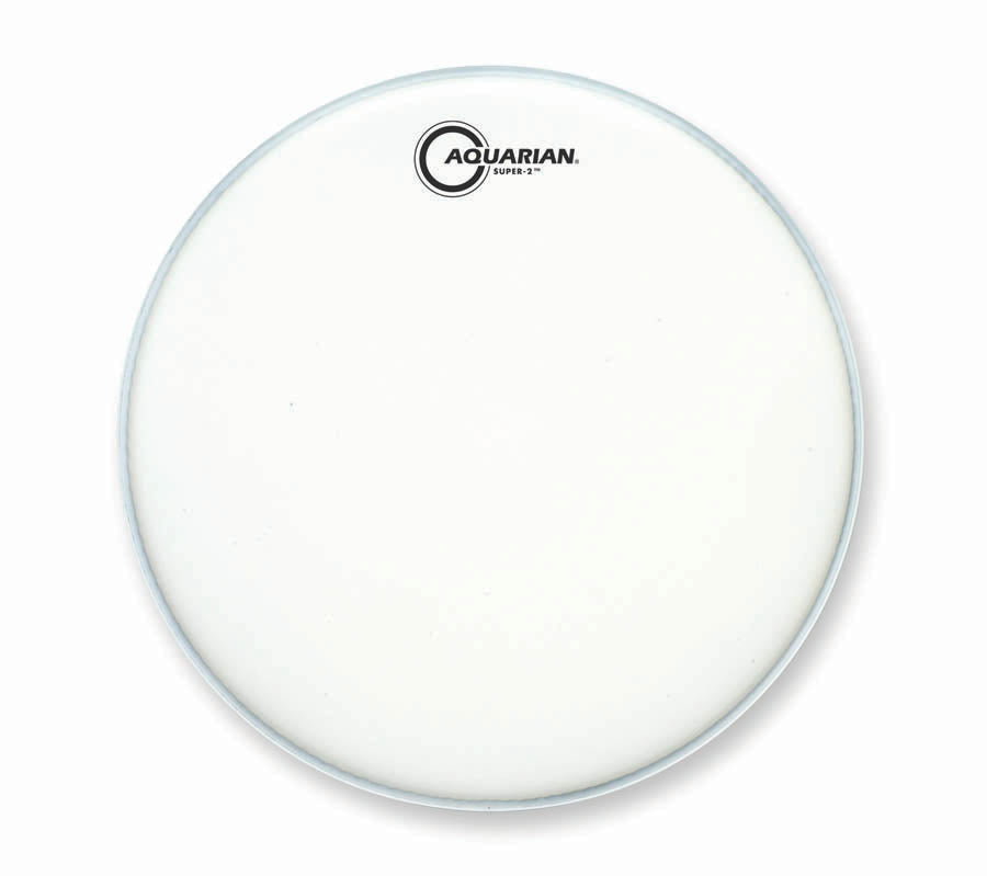 "Aquarian 14"" Texture Coated Super-2 Drum Head"