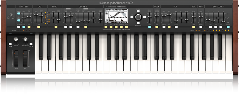 Behringer Deepmind 12 Analog 12 Voice Polyphonic Synthesizer