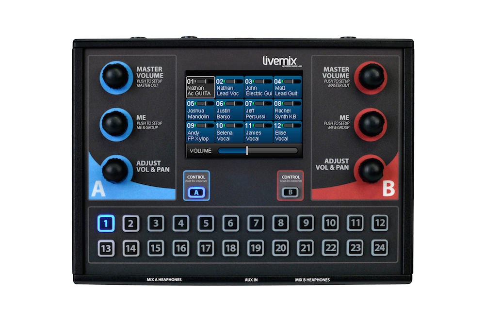 Digital Audio Labs CS-DUO Livemix Personal Mixer