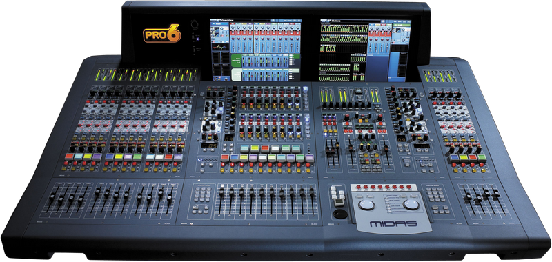 Midas PRO6-CC-IP Digital Console - Install Package