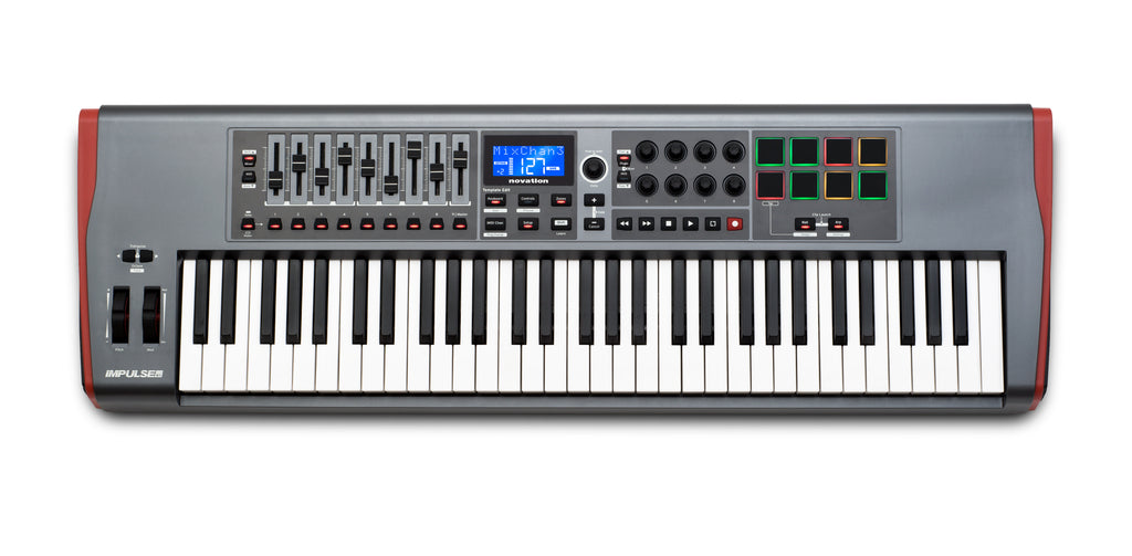 Novation Impulse 61 Key Controller