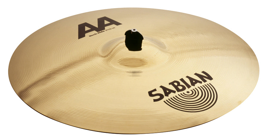 "Sabian 21"" AA Rock Ride Cymbal Brilliant Finish"