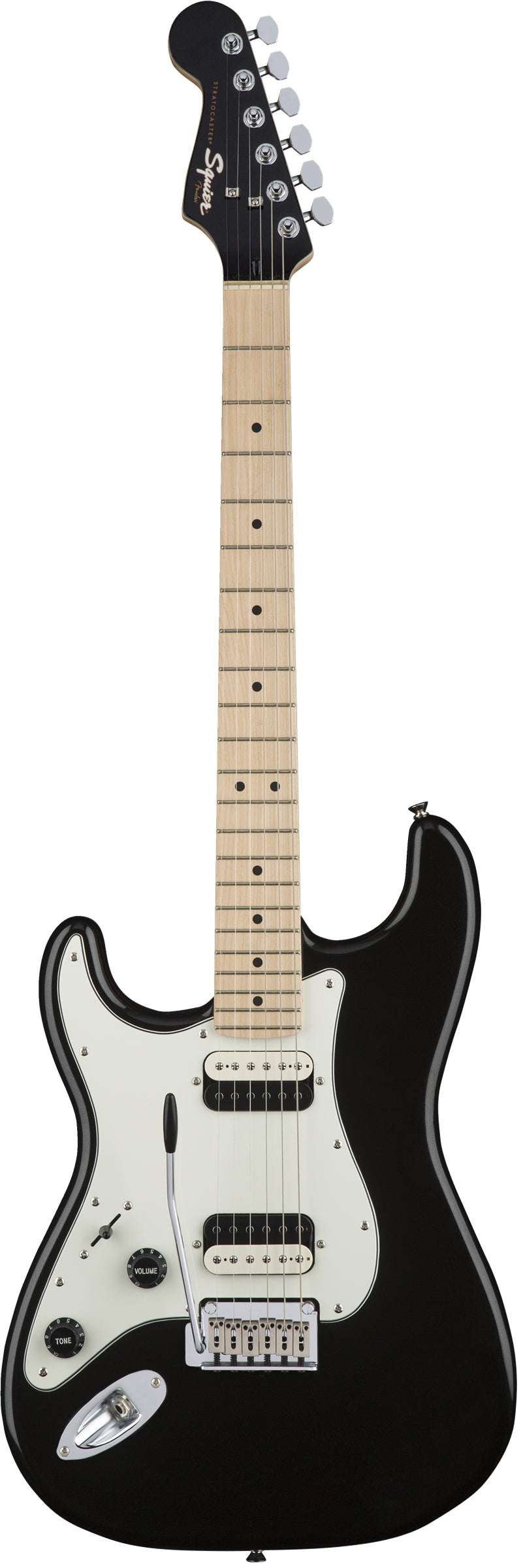 Squier Left Handed Contemporary Stratocaster HH - Black Metallic