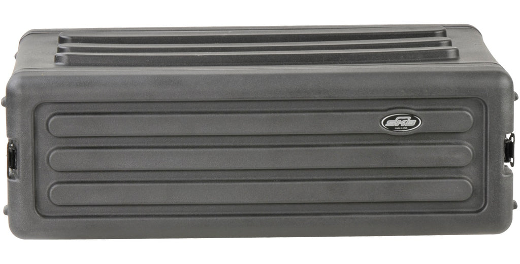 SKB 1SKB-R3S Roto-Molded 3U Shallow Rack Case