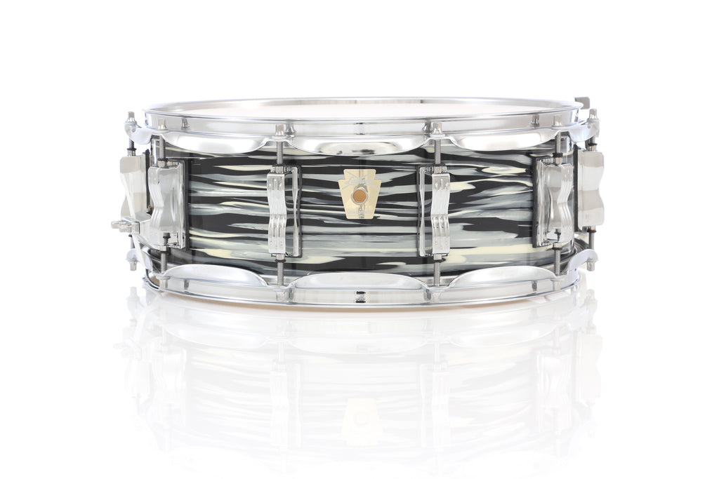 "Ludwig 14"" x 5"" Classic Maple Snare Drum - Vintage Black Oyster"