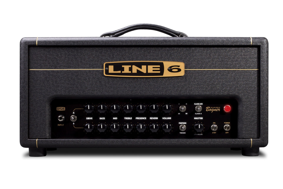 Line 6 DT25H 25W Guitar Amp Head