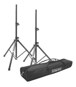 On-Stage Stands SSP7950 All-Aluminum Speaker Stand Pak with Zippered Bag