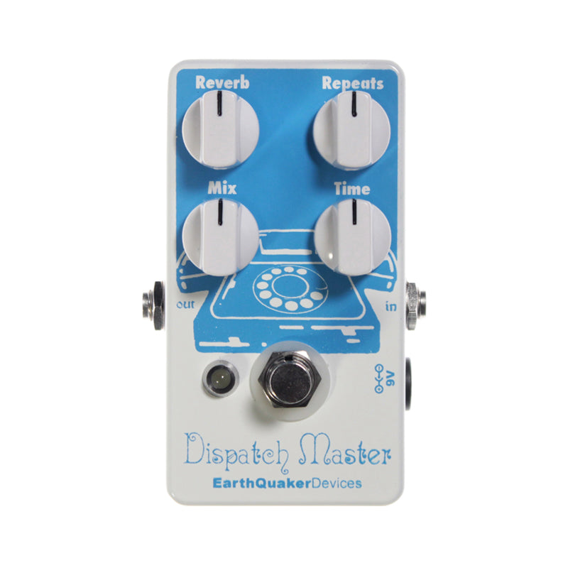 Earthquaker Dispatch Master Guitar Effects Pedal