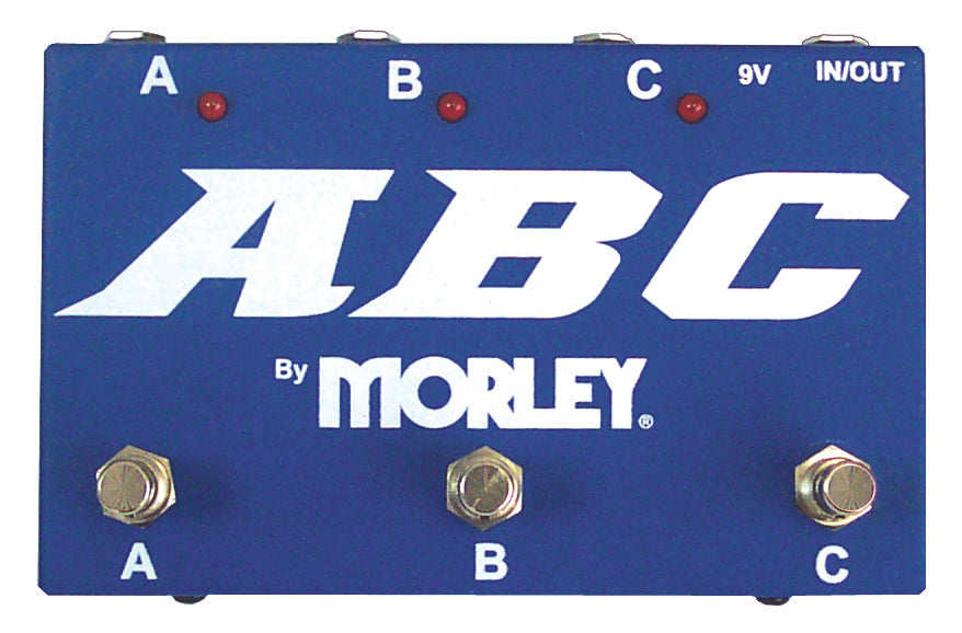 Morley ABC Selector / Combiner Switching Pedal
