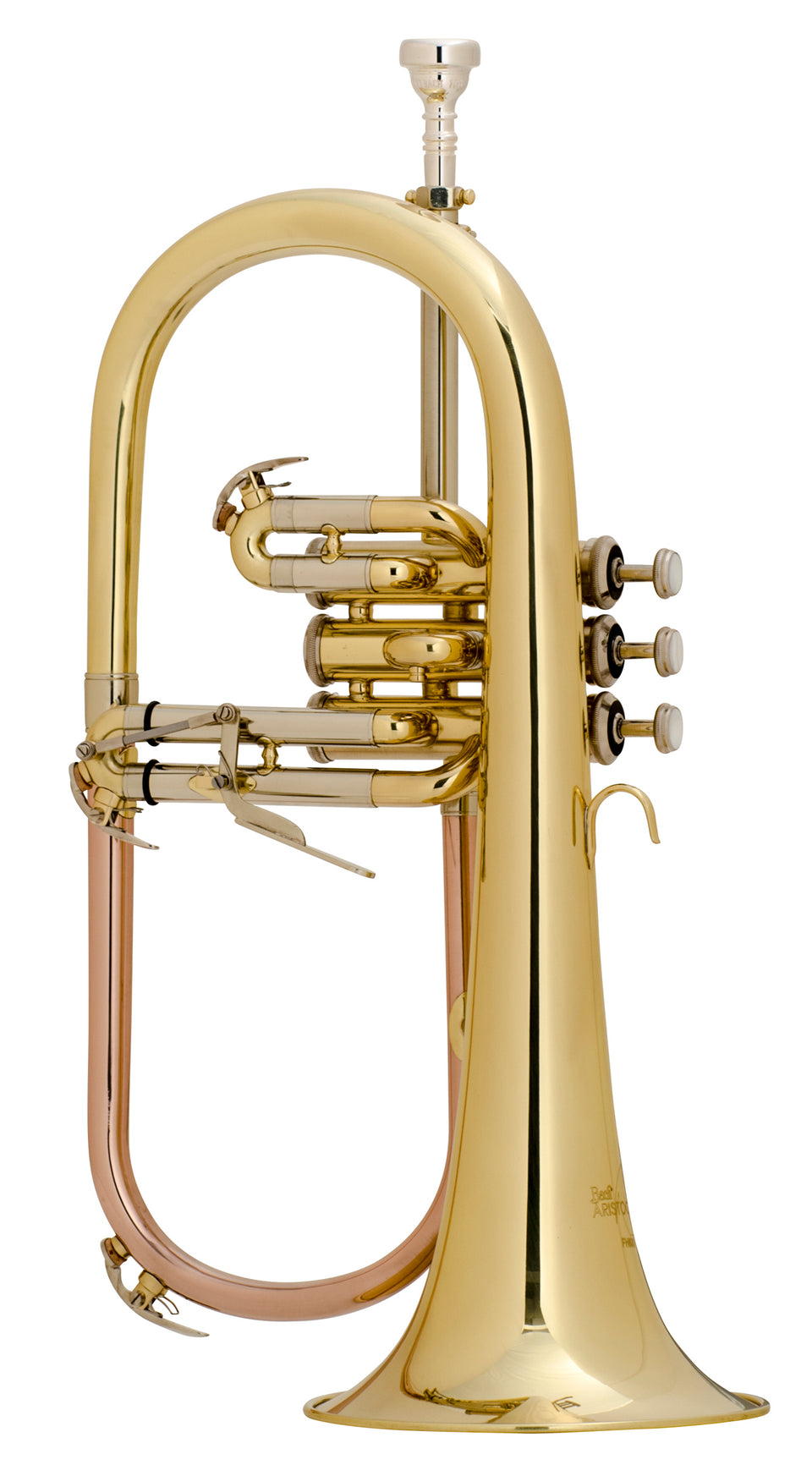 Bach FH600 Aristocrat Student Model Flugelhorn Outfit