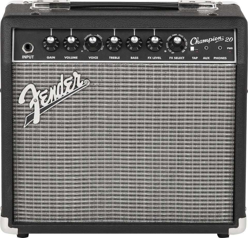 "Fender Champion 20 1x8"" 20W Guitar Amplifier"