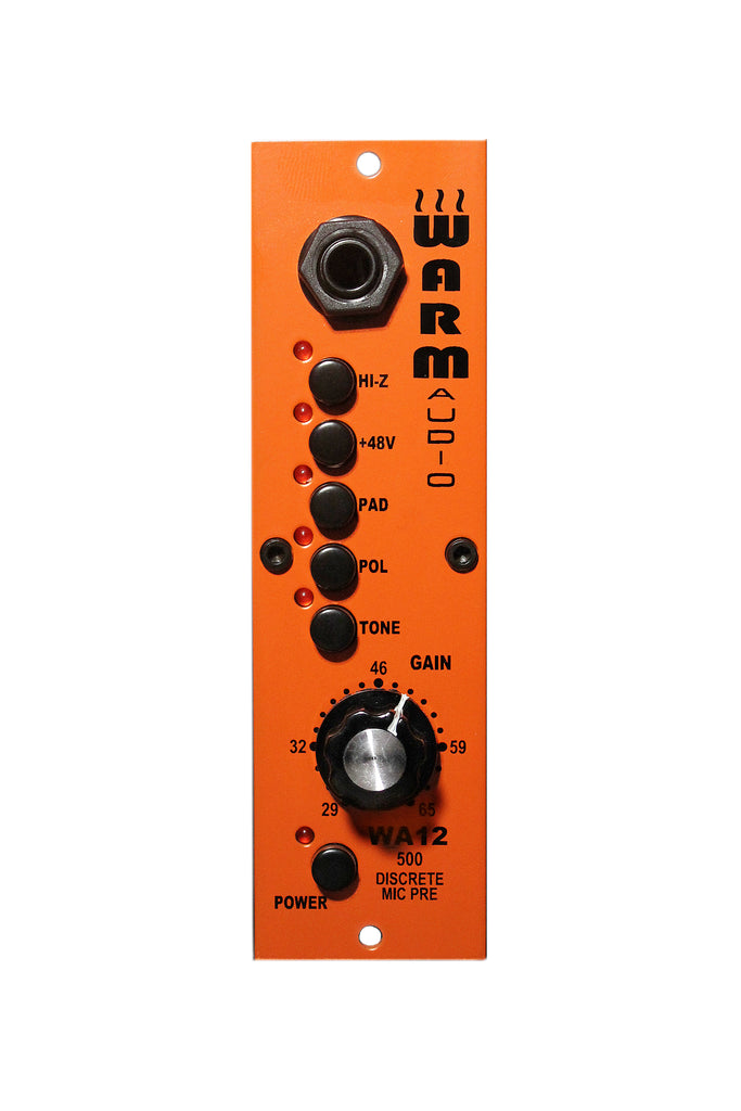 Warm Audio WA12-500 Mic Pre Amp for 500 Series