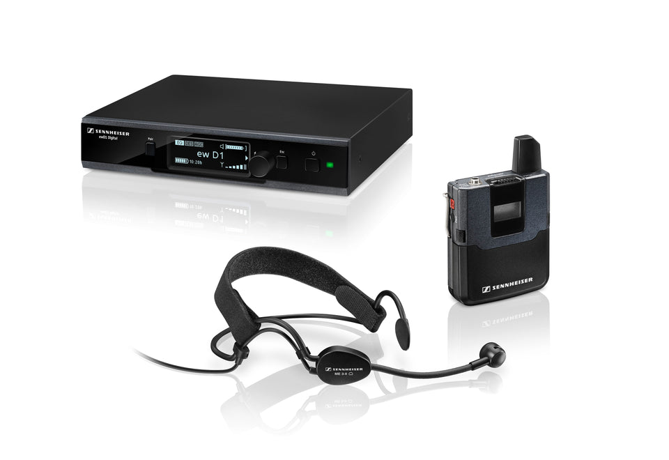 Sennheiser EW D1-ME3 Wireless Headmic Set