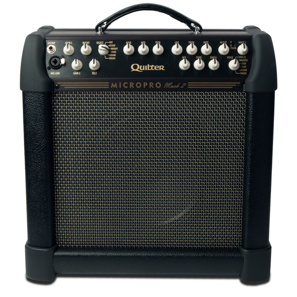 "Quilter MicroPro Mach 2 100/200w Guitar Combo - 10"" Celestion G10"