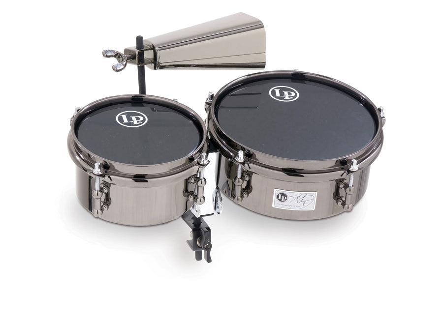 LP 845-JD John Dolmayan Mini Timbales With Cowbell And Mount Pack