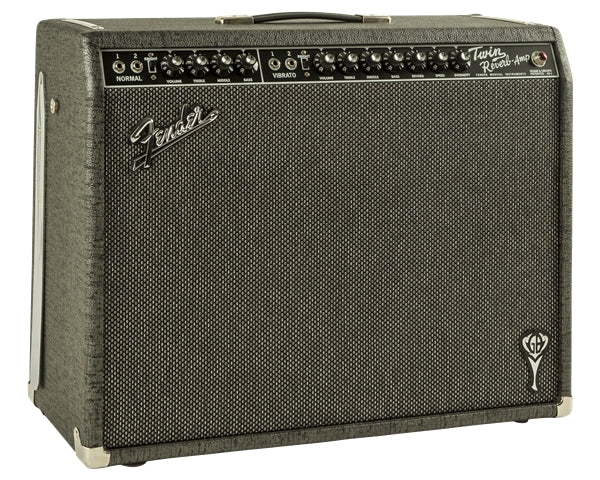 Fender GB Twin Reverb 85w Tube Guitar Combo - Grey