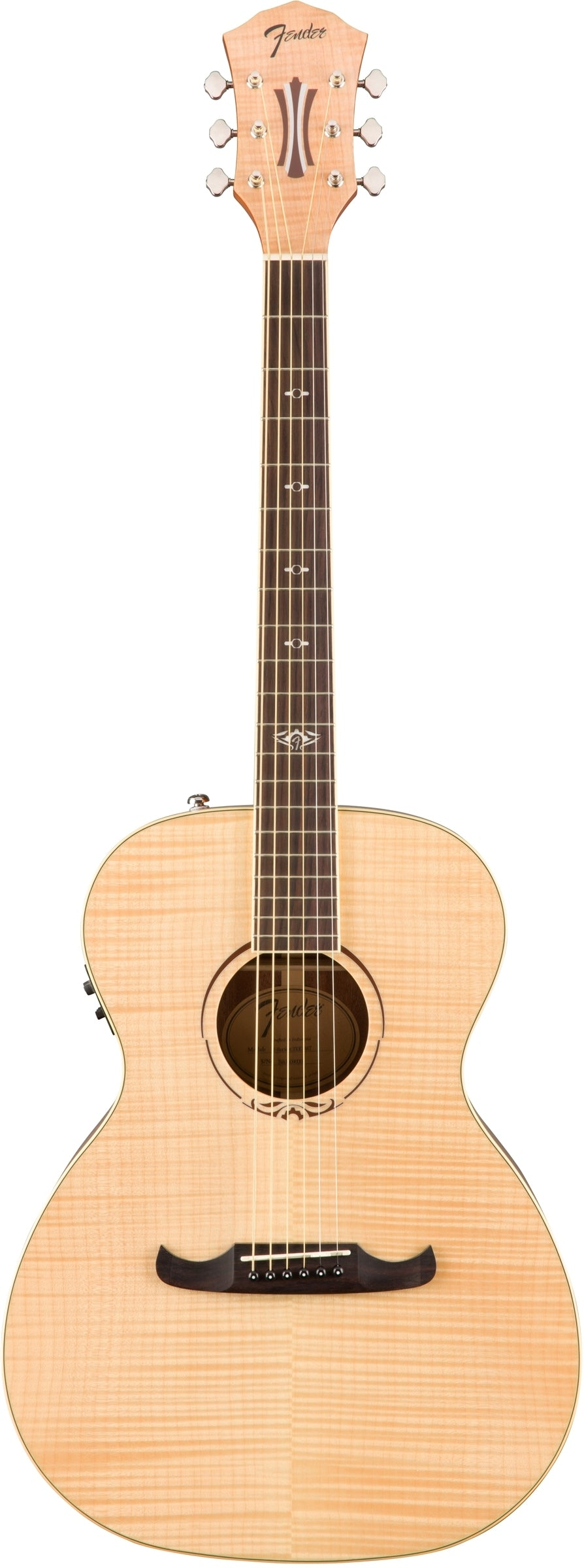 Fender T-Bucket 350E Concert Style Acoustic Electric Guitar - Natural