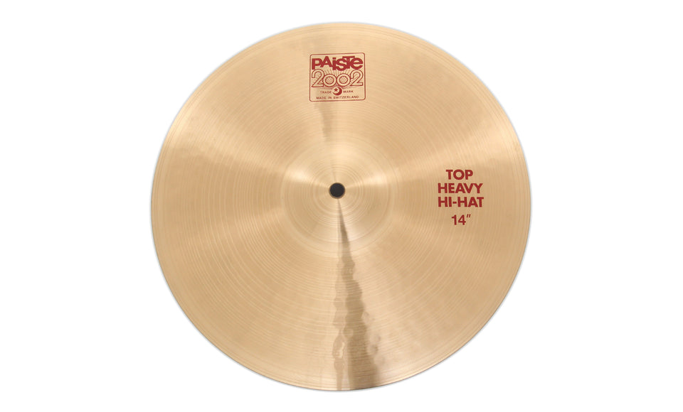 "Paiste 14"" 2002 Heavy Hi-Hat Top Cymbal"
