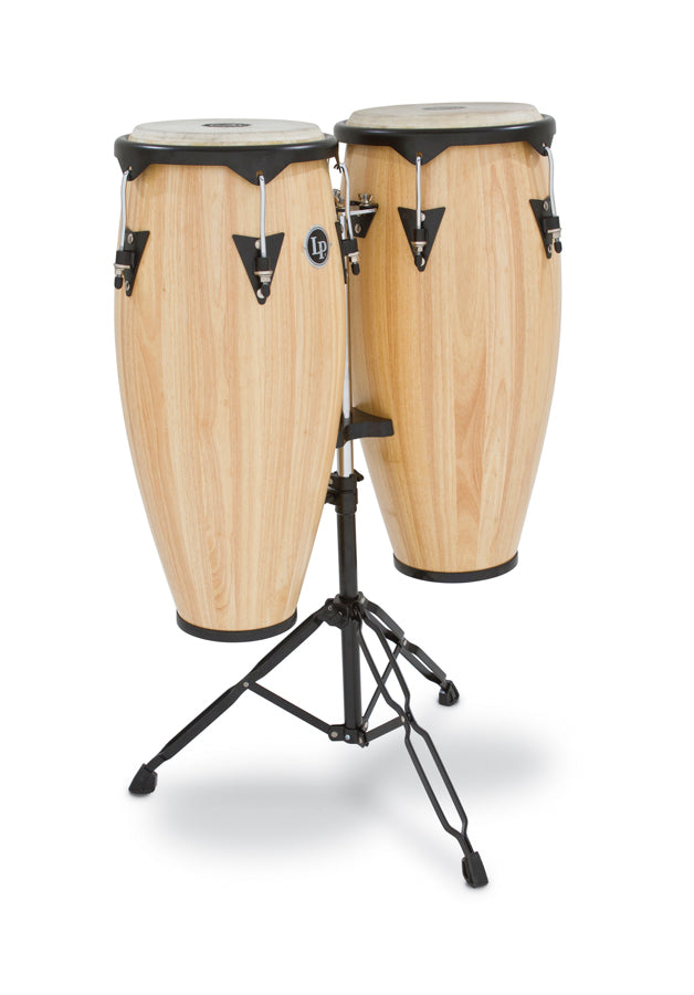 "LP LP646NY-AW City Wood Congas 10"" And 11"" Set, Natural"