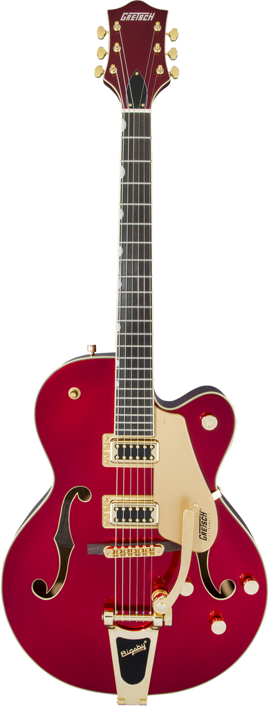 Gretsch G5420TG Limited Edition Electromatic Hollow Body Electric Guitar W/Bigsby - Ebony Fingerboard, Candy Apple Red