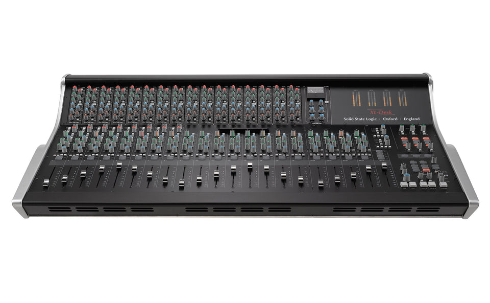 Solid State Logic XL-DESK Super Analogue Mixer With 16 500 Series SSL E-Series EQs