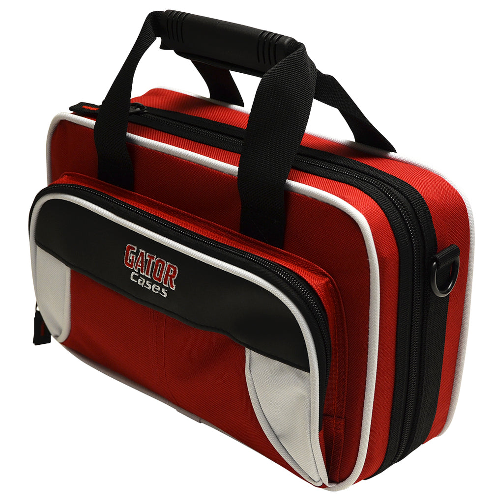 Gator GL-CLARINET-WR Spirit Series Lightweight Clarinet Case, White And Red