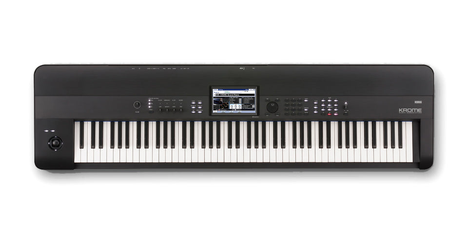 Korg Krome Music Workstation 88-Key Keyboard Synthesizer Workstation