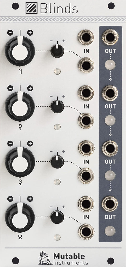 Mutable Instruments Blinds Quad VC-Polarizer Eurorack Module