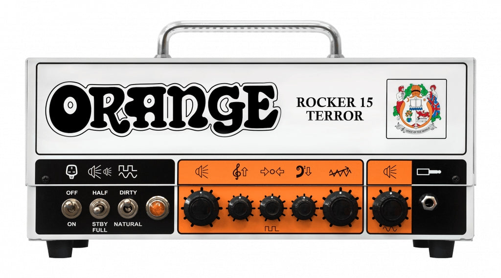 Orange Rocker 15 Terror Twin Channel 15W Guitar Amp Head