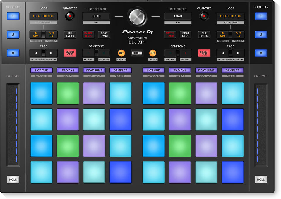 Pioneer DJ DDJ-XP1 Add-On Controller For Rekordbox DJ And Rekordbox DVS