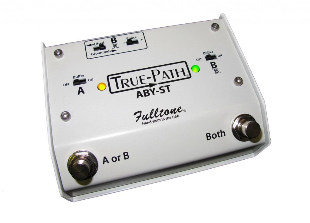 Fulltone True-Path ABY-ST Silent Soft Touch Switching Pedal