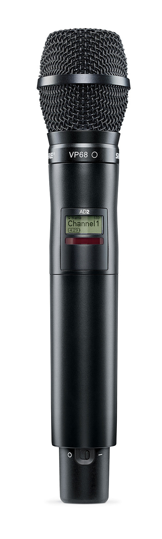 Shure AD2/VP68 Axient Digital Handheld Transmitter W/ VP68 Cartridge