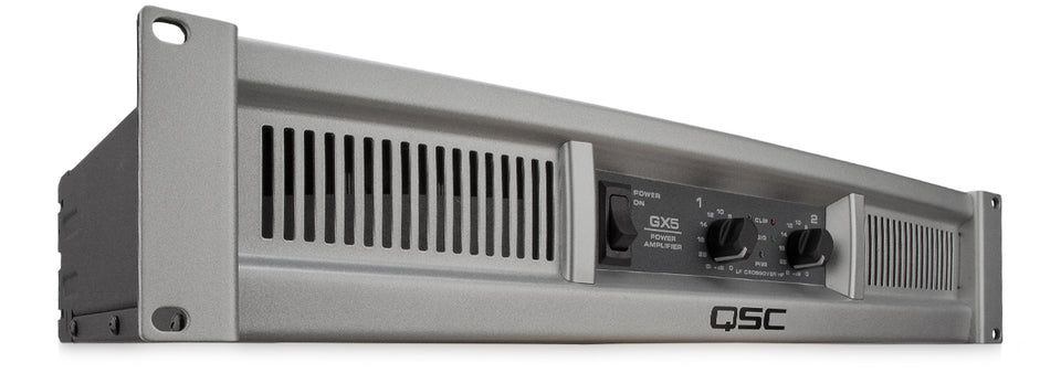 QSC GX5 500 Watt Power Amplifier