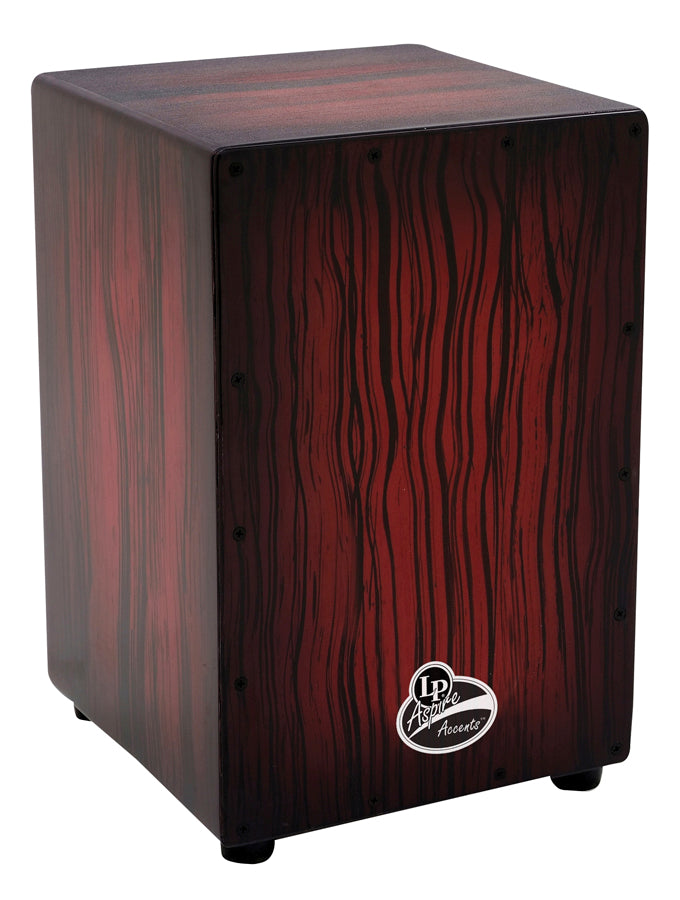 LP LPA1332-DWS Aspire Accents Cajon, Dark Wood Streak