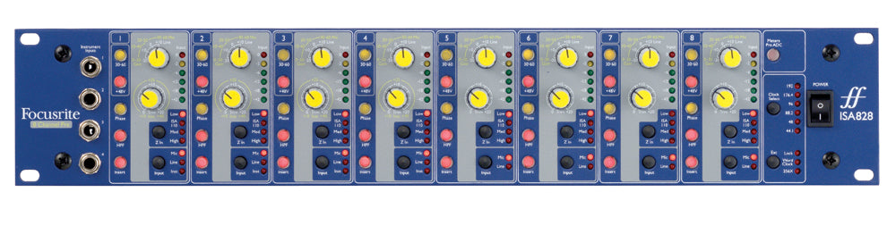 Focusrite ISA 828 with 8 Channel A/D Option